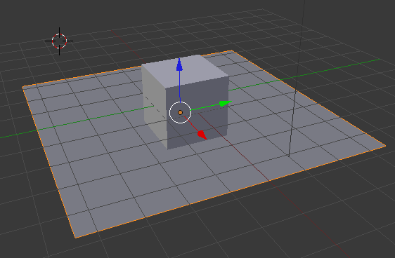blender scale move