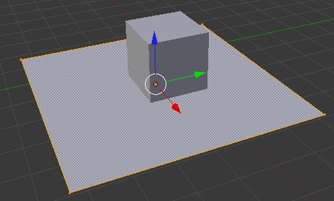 blender select plane vertices