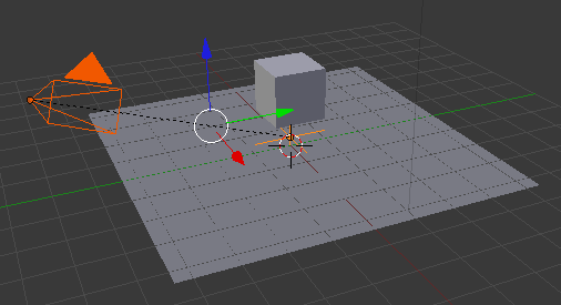blender orbit camera